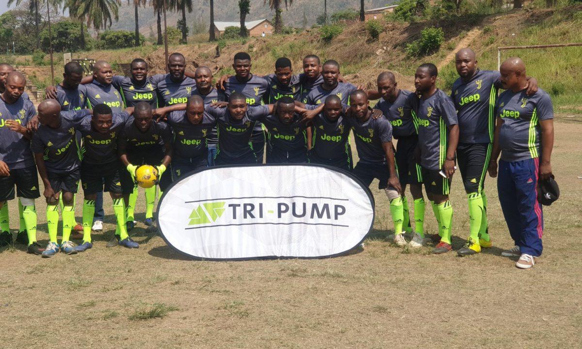 Tri-pump soccer team works hard, plays hard